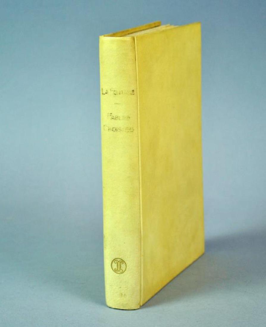 JAPANESE BOOK - CHOIX DE FABLES DE LA FONTAINE