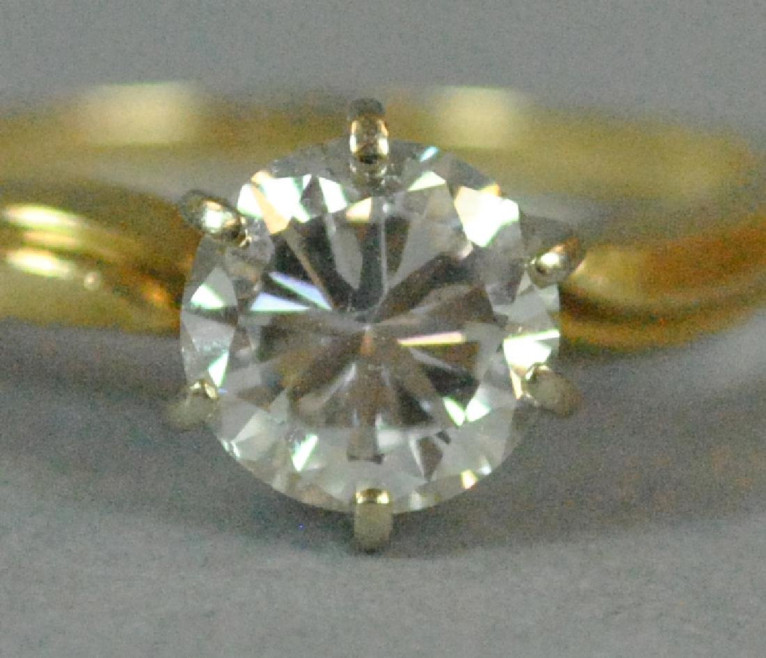 DIAMOND ENGAGEMENT RING, 1.00CT