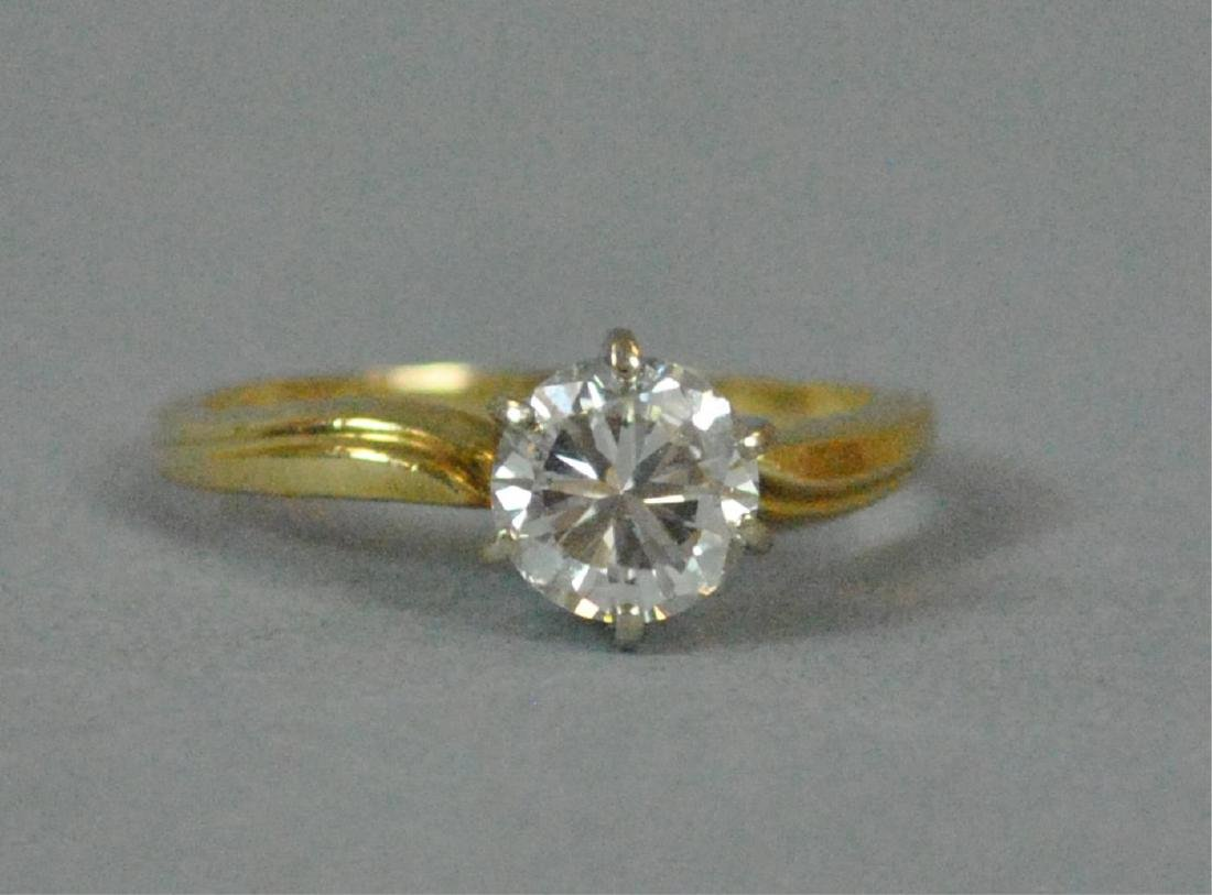 DIAMOND ENGAGEMENT RING, 1.00CT - 2