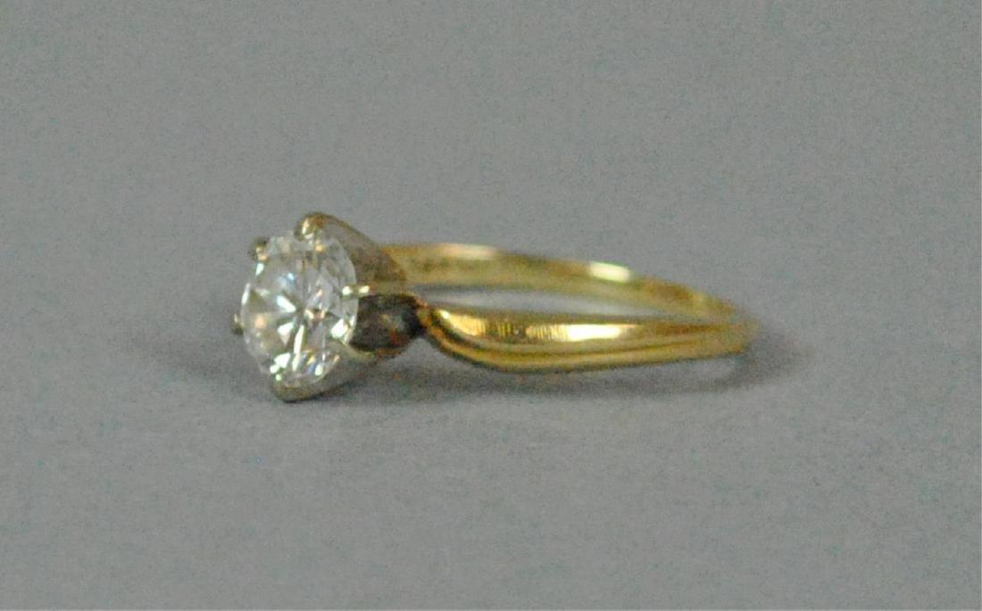 DIAMOND ENGAGEMENT RING, 1.00CT - 3