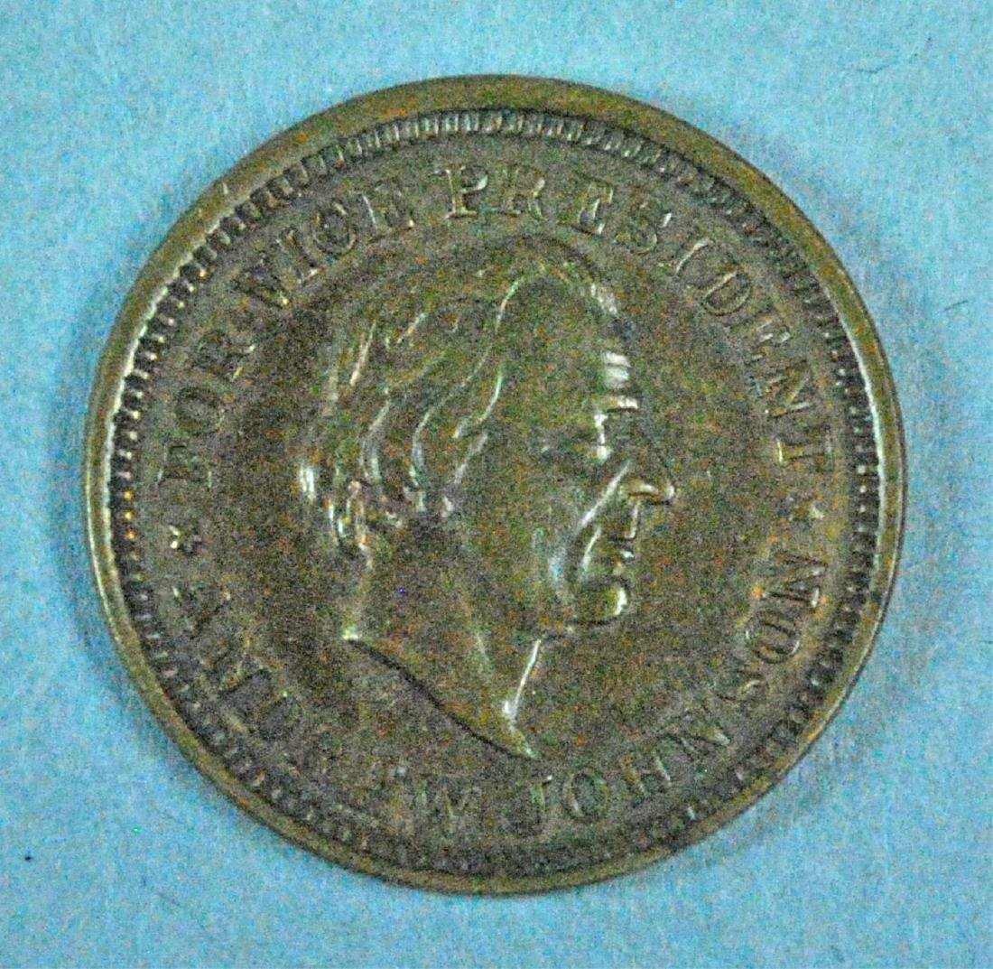 (3) ABRAHAM LINCOLN TOKENS / MEDALS - 4