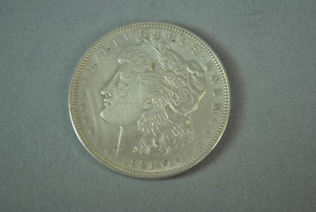 (16) US SILVER PEACE & MORGAN DOLLARS - 4