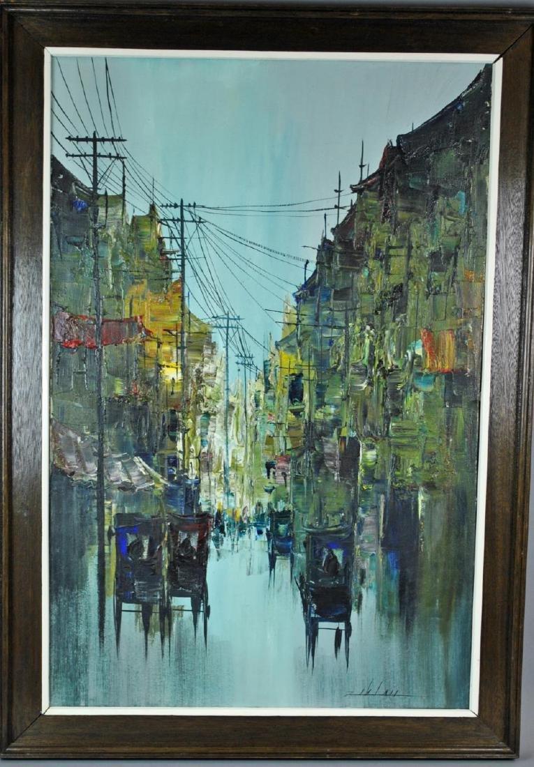 MANILA STREETSCAPE BY MABINI ARTIST ENRICO ZABLAN - 2