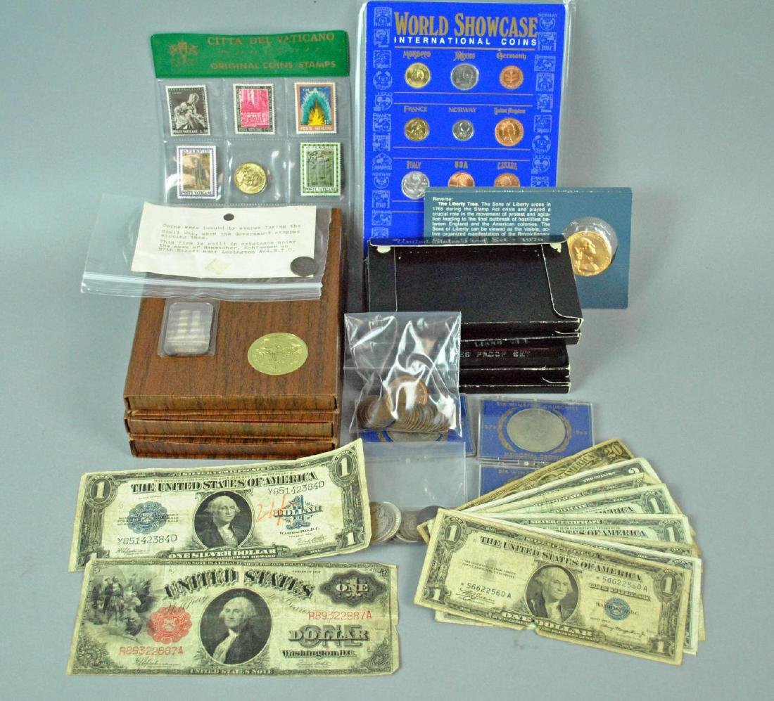 VARIED COIN & CURRENCY GROUP - PRIMARILY US