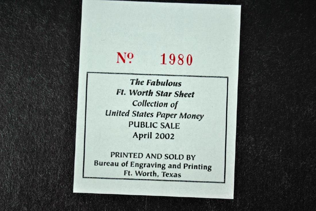 UNCUT SHEET OF BICENTENNIAL $2 STAR NOTES - 4