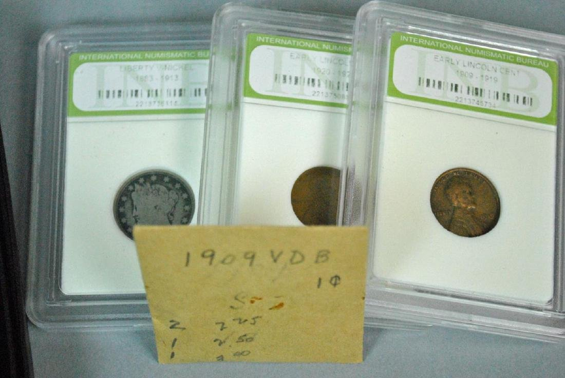 (24) PIECE COIN & MEDALS COLLECTIBLE GROUP MOST US - 3