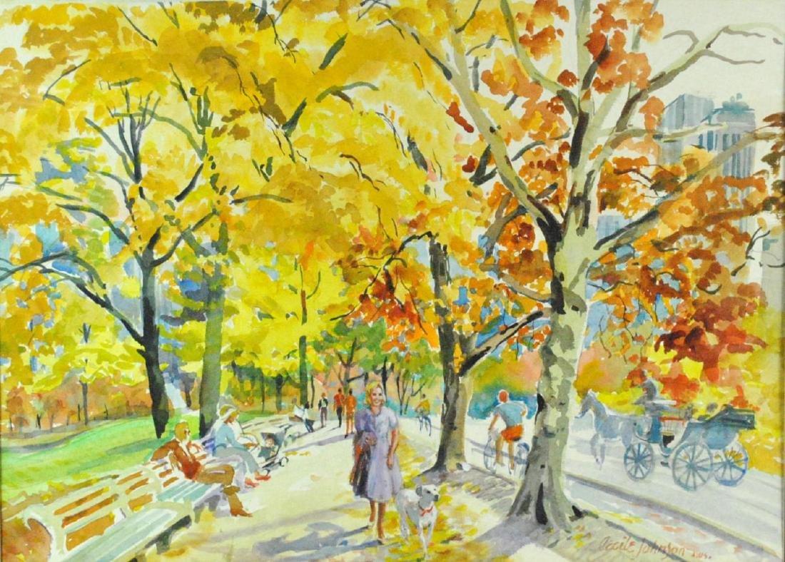 CECILE RYDEN JOHNSON (New York, 1916-2010)