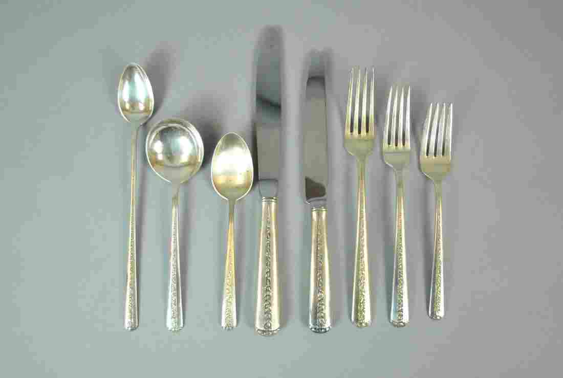 (93) PIECE TOWLE STERLING FLATWARE SERVICE