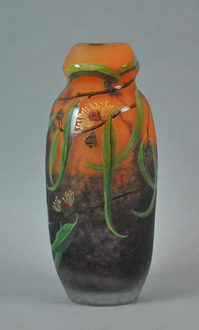 MULLER FRES LUNEVILLE ART GLASS VASE