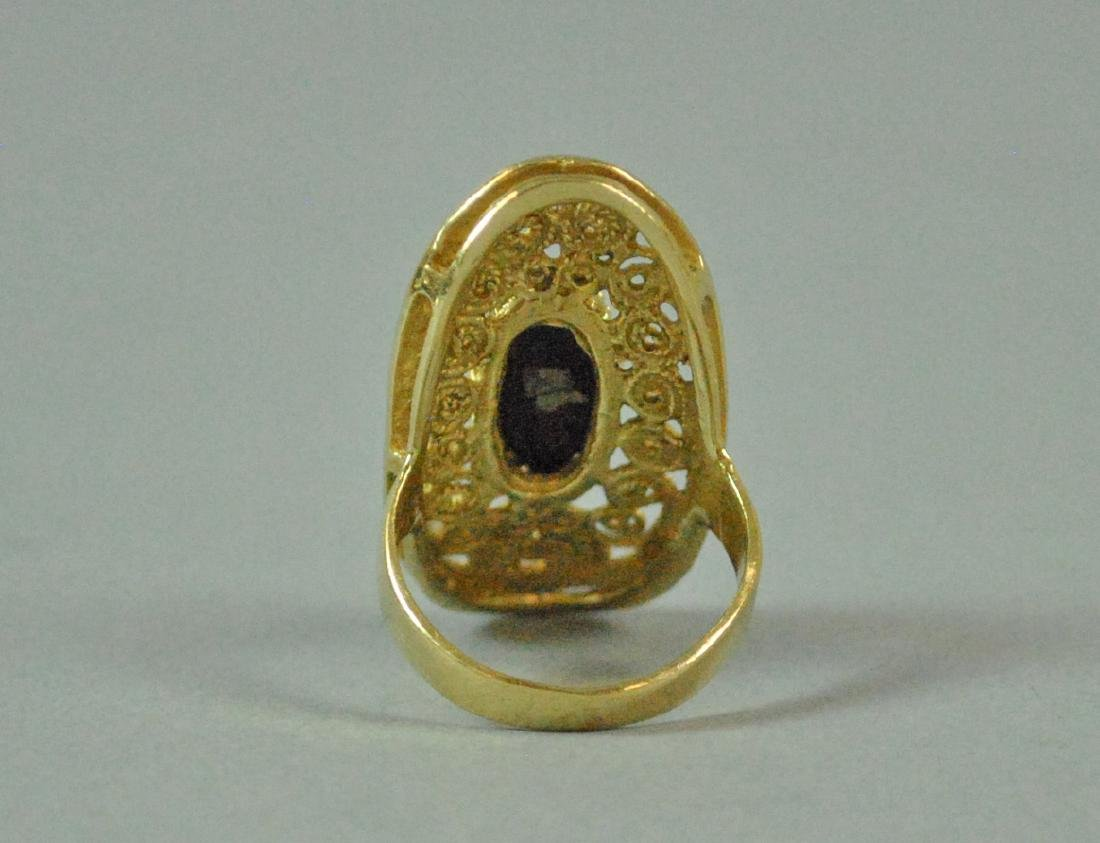 (2) PIECE GOLD JEWELRY GROUP - 4
