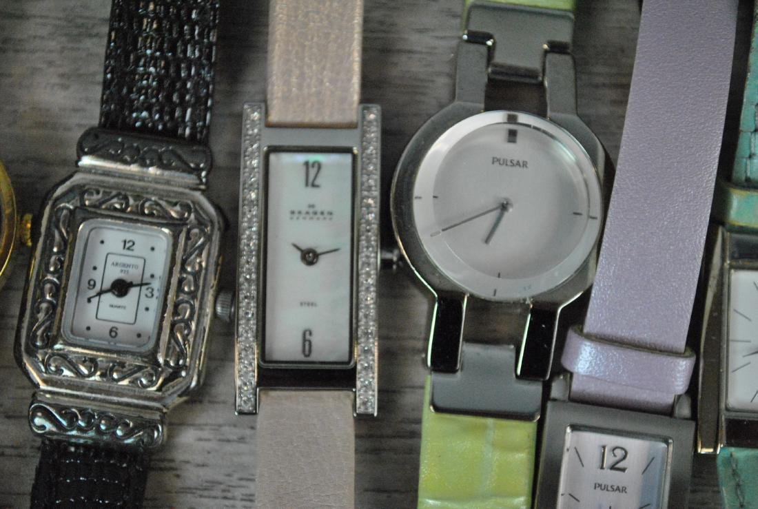 (100+) ASSORTED LADIES FASHION WATCHES - 6