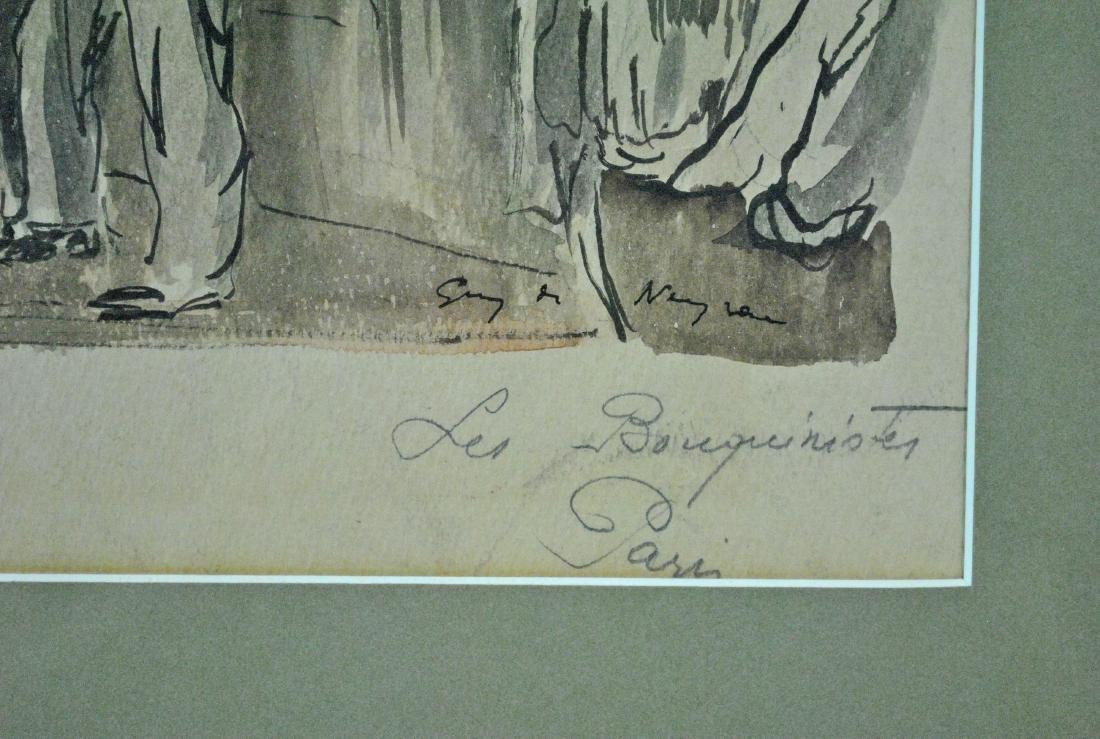 GUY DE NEYRAC (French, 1900-1950), (2) PAINTINGS - 6
