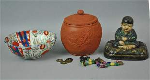 8 PIECE ASIAN COLLECTIBLE GROUP