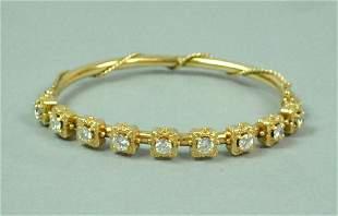 DIAMOND BANGLE BRACELET 180CTW