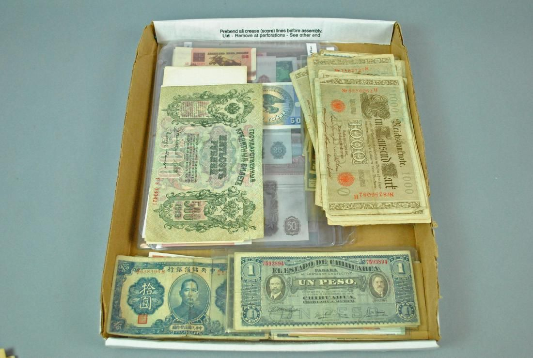 (200+) INTERNATIONAL CURRENCY NOTES
