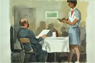 SERGE HOLLERBACH Russian b1923