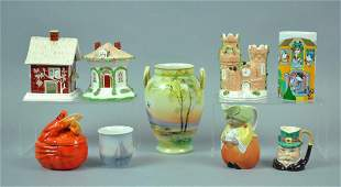 (9) PIECE CONTINENTAL CERAMIC COLLECTIBLES GROUP