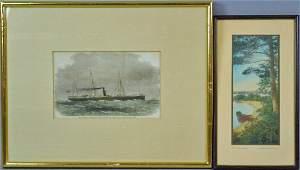 (2) VINTAGE ARTWORKS