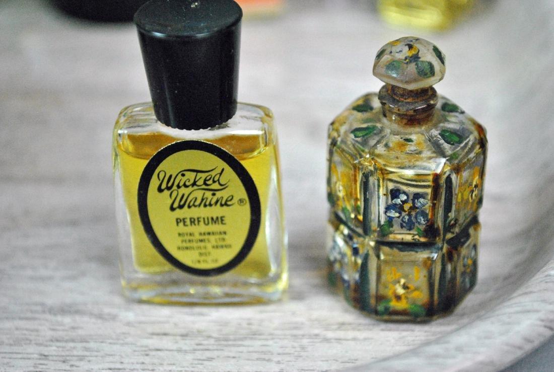 (46) VINTAGE PERFUME BOTTLES - 10