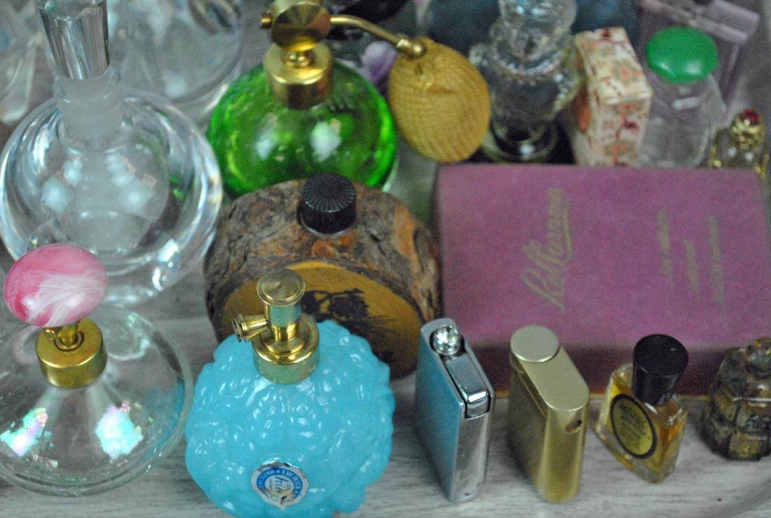 (46) VINTAGE PERFUME BOTTLES - 4