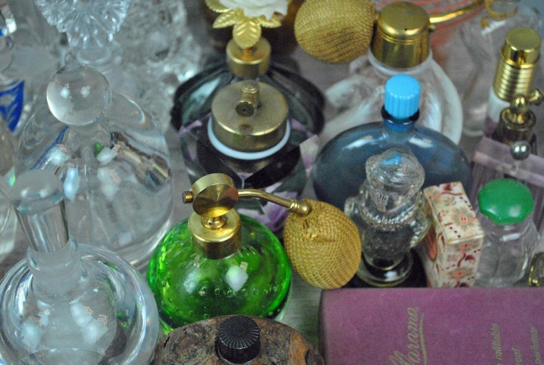 (46) VINTAGE PERFUME BOTTLES - 5