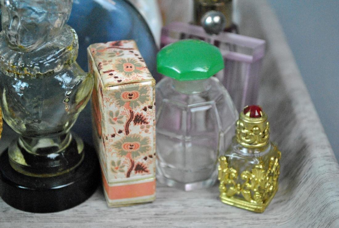 (46) VINTAGE PERFUME BOTTLES - 9