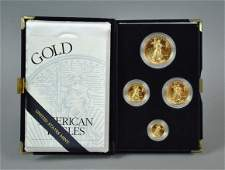 1997 AMERICAN EAGLE 4-COIN GOLD PROOF SET