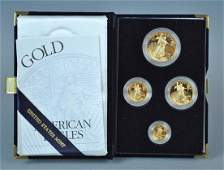 2000 AMERICAN EAGLE 4-COIN GOLD PROOF SET