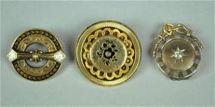 3 PIECE VICTORIAN JEWELRY GROUP