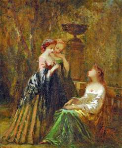 ADOLPHE MONTICELLI (French, 1824-1886)