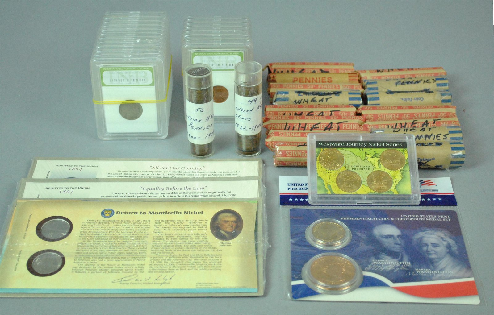ECLECTIC US NON SILVER COINAGE COLLECTION