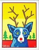 GEORGE RODRIGUE SERIGRAPH - TRULY RUDY