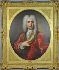 18THC. FRENCH SCHOOL PORTRAIT OF A GENTLEMAN