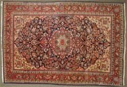 PERSIAN STYLE WOOL CARPET, 6.5 X 4.2