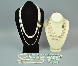 5 HONORA FRESHWATER CULTURED PEARL GROUP ETC