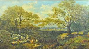 GEORGE VICAT COLE (English, 1833-1893)