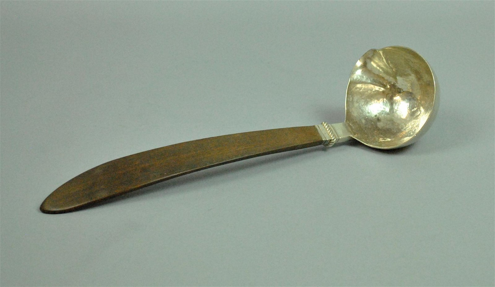 WILLIAM SPRATLING MEXICAN SILVER & ROSEWOOD LADLE