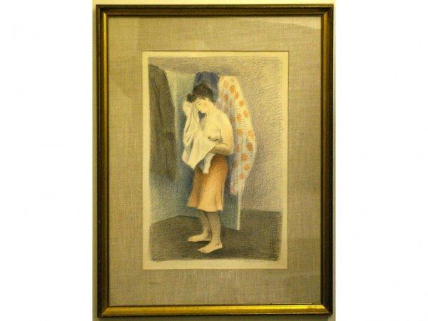10: RAPHAEL SOYER (American, 1899-1987)