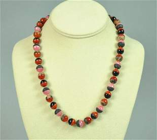 PALOMA PICASSO FOR TIFFANY HARDSTONE BEAD NECKLACE