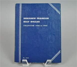 PARTIAL SET 31 BEN FRANKLIN HALF DOLLARS 19481963