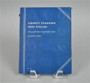 PARTIAL SET 24 LIBERTY HALF DOLLAR COINS 19371945