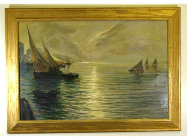 24: OIL ON CANVAS SIGNED G. MAZETTI