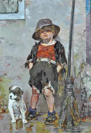 MARIO MONTELATICI (Italy, 1894-1974) PIETRA DURA