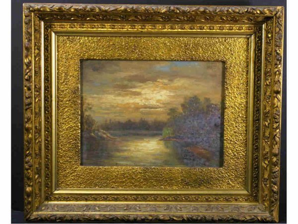 VINTAGE WATERSCAPE PAINTING
