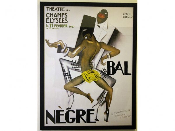 BAL NEGRE POSTER AFTER PAUL COLIN