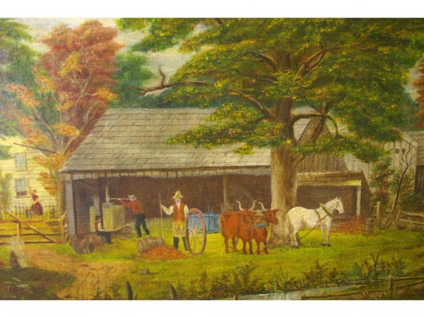 10: AMERICAN SCHOOL, AFTER CURRIER & IVES