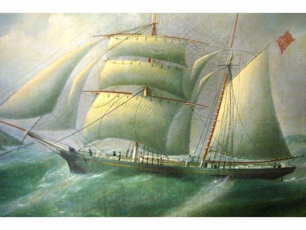 11: AMERICAN SCHOOL, THE ELIZABETH KELLY IN ROUGH SEAS