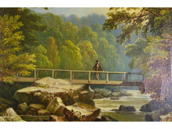 15: ATTRIBUTED TO JAMES BURRAS (British, 19thC.)