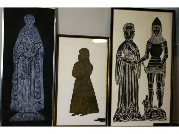 5: THREE CONTEMPORARY RUBBING-STYLE PICTURES