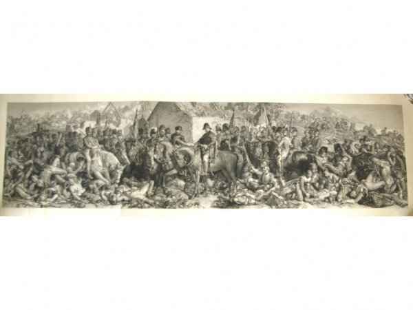 20: UNFRAMED ENGRAVING OF WELLINGTON AND BLUGHER